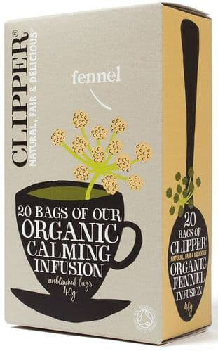 Clipper Organic Infusion Fennel Herbal Tea
